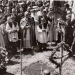 Fahnenweihe TB Kirchasch 1954 (12)