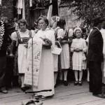 Fahnenweihe TB Kirchasch 1954 (27)
