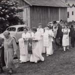 Fahnenweihe TB Kirchasch 1954 (3)