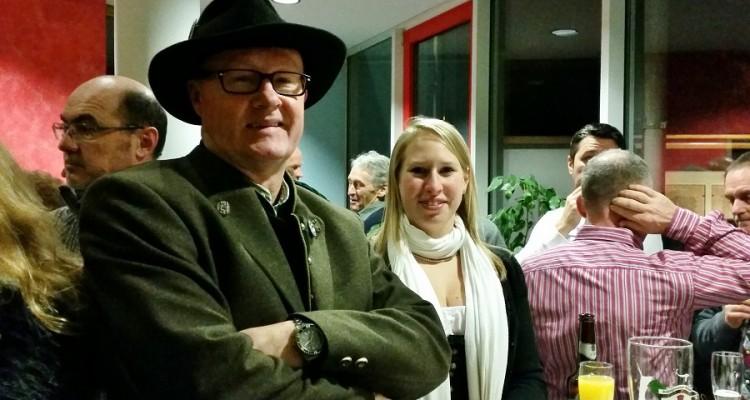v.l. Christian Prang und Manuela Hübner