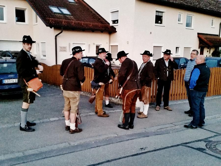Böllerschützen Treu Bayern Kirchasch